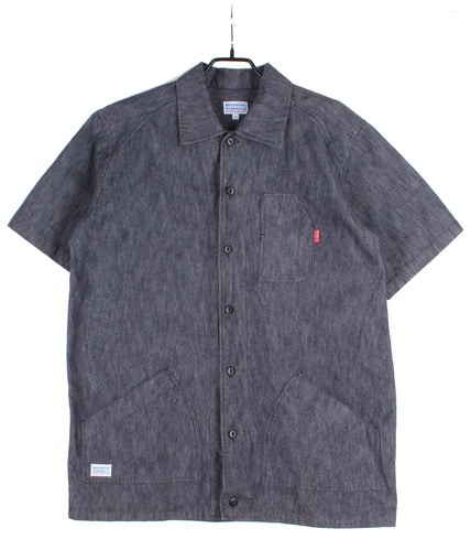 BROOKLYN OVERALL Co 1/2 shirt (L)