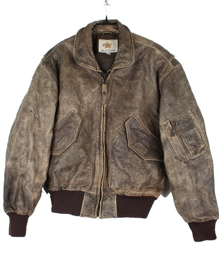Golden Bear leather jacket  (made in U.S.A.)