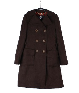 DOLCE & GABBANA wool coat (made in Italy)