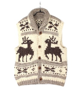 cowichan sweater vest (made in Canada)