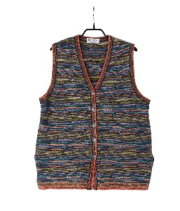Miss College bv MARCAZZANI wool vest (made in Italy)