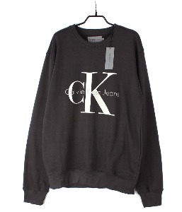 calvin klein sweat shirt (XL) (new arrival) (Dark Grey)