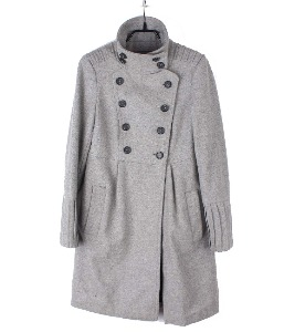 zara wool coat (xs)
