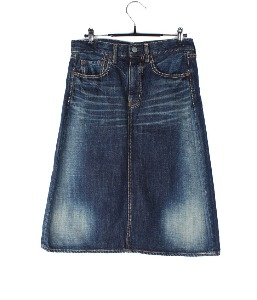 OMNIGOD denim skirt