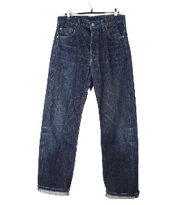Levi`s 503B-xx  Big E selvedge denim pants (31x36)