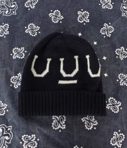 under cover x uniqlo beanie for kids