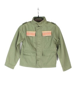 BACK NUMBER jacket for kids